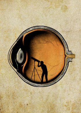 Eyeball art -My vision as