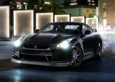 Nissan GTR, Tokyo.