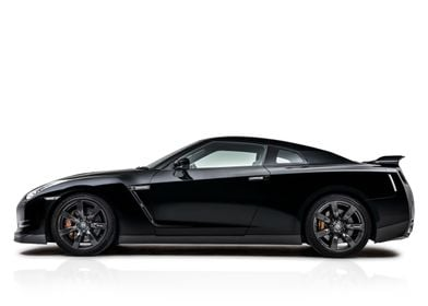 Nissan GTR, studio. Image also available in portrait o ...