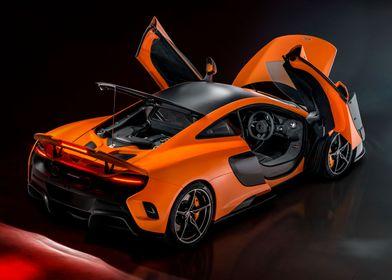 McLaren 675LT. Image also available in portrait orient ...