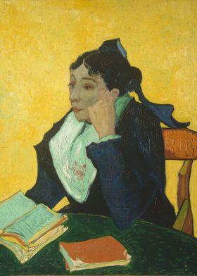 Vincent van Gogh - L'Arlésienne: Madame Joseph-Michel G ...