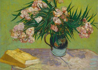 Vincent van Gogh - Oleanders, 1888, oil on canvas; Coll ...