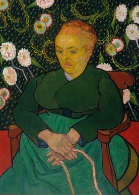 Vincent van Gogh - La Berceuse (Woman Rocking a Cradle; ...