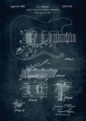 No003 - 1954 - Tremolo devide for stringed instruments  ...