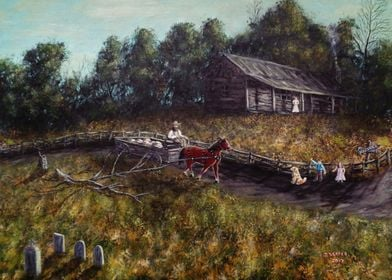 """""""Old Home, New Family"""" A father returns home to greeti ..."""