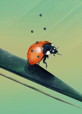 Oh, Bugger (Spring Version) | Digital Art