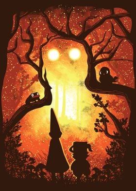 """Inspired by the cartoon TV show """"Over the Garden Wall."""" ..."""