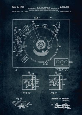 No041 - 1952 - Automatic interlocking dual phonograph r ...