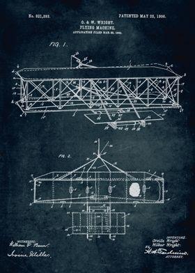 No045 - 1903 - Flying machine - Inventors O. & W. Wrigh ...
