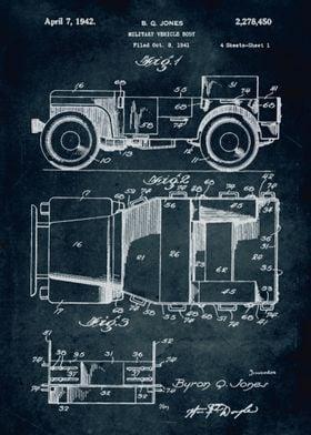 No057 - 1941 - Military vehicle body - Inventor Byron Q ...