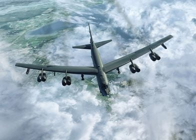 USAF B52 'Buff' Stratofortress