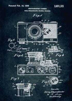 No062 - 1936 - Photographic camera - Inventor Heins Küp ...