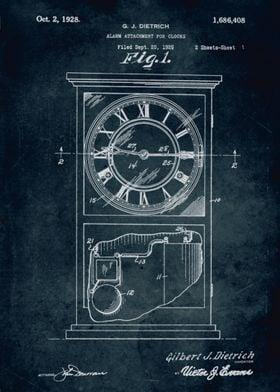 No092 - 1926 - Alarm Attachment for clocks - Inventor G ...