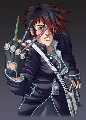 "Anime style ""manga"" artist"