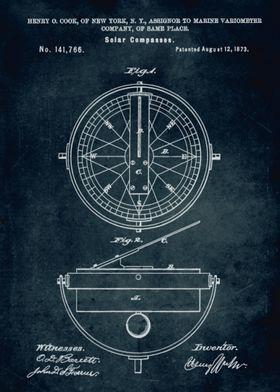 No096 - 1873 - Solar Compasses - Inventor Henry O. Cook ...