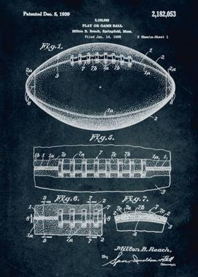 No099 - 1938 - Play or game ball - Inventor Milton B. B ...