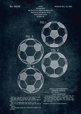 No104 - 1963 - Soccer Ball - Inventor Max Doss