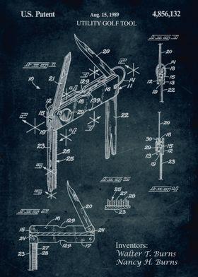 No120 - 1989 - Ultility golf tool - Inventors: Walter T ...