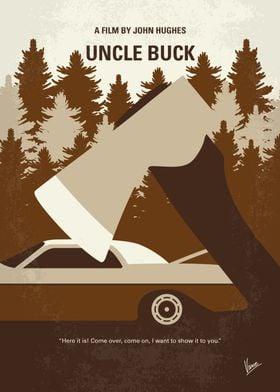 No818 My Uncle Buck minimal movie poster Bachelor and ...