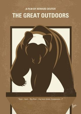 No824 My The Great Outdoors minimal movie poster A Chi ...