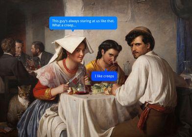 Creeps in a Roman Osteria
