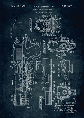 No153 - 1966 - Gun slide guilding devices - Inventors F ...