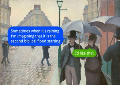 The Blablical Flood