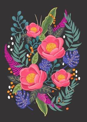 Secret Flower Garden -Night Flower Garden-
