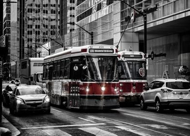 Taken in the Downtown District, in Toronto, Ontario, Ca ...