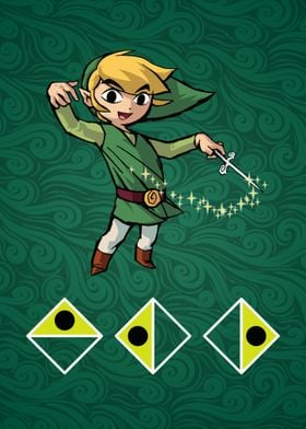 The Legend of Zelda: Wind Waker poster of Wind's Requie ...
