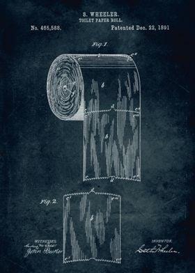 No270 -1891 - Toilet paper roll - Inventor Wheeler
