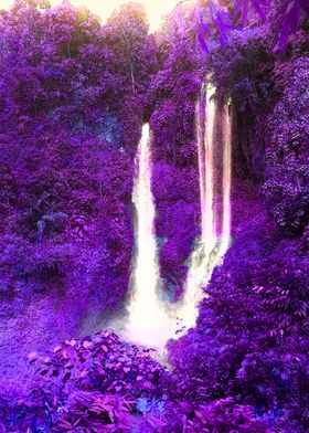 Forrest dream waterfall