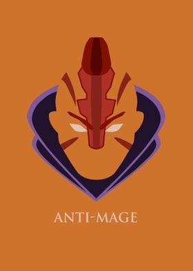Anti-Mage poster from DOTA 2