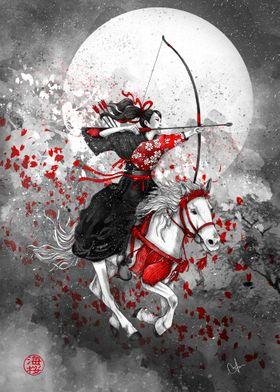 Horse and Rider - Yabusame