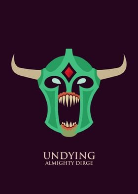 Undying poster from DOTA 2