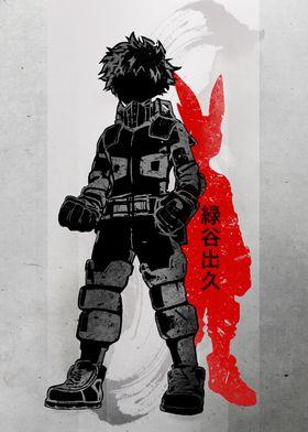 Crimson Hero Deku