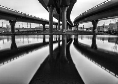 Gothenburg snakebridges