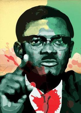 Patrice Lumumba - Colors of the Congo
