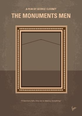 No845 My THE MONUMENTS MEN moviem poster