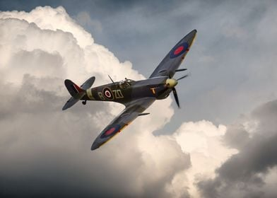 The most famous of them all Spitfire MH434