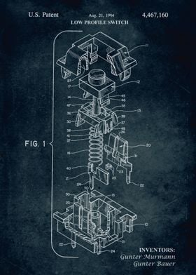 No316 - 1984 - Low profile switch