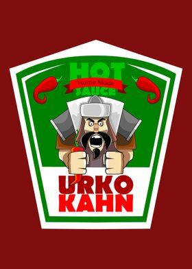 Urko Kahn Hot Sauce