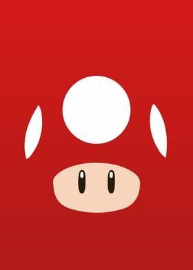 Mario Bros - Red Mushroom