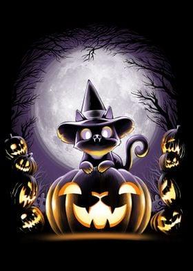 Witch-Cat Night