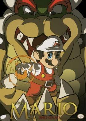 Super Mario Fan Art Poster