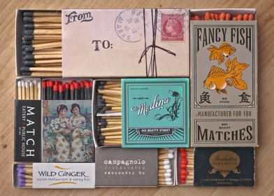 Matches in the drawer