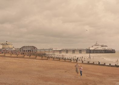 eastbourne pier after the fire