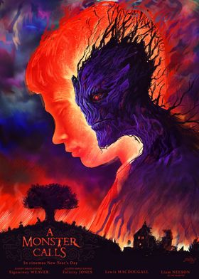 A Monster Calls alternative movie poster