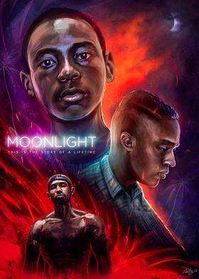 Moonlight Alternative Movie Poster