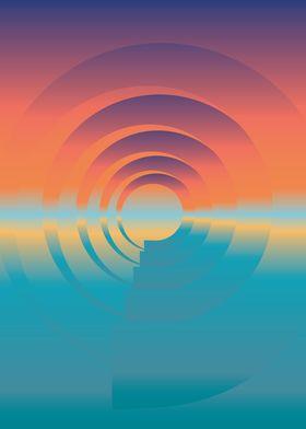 water and horizon